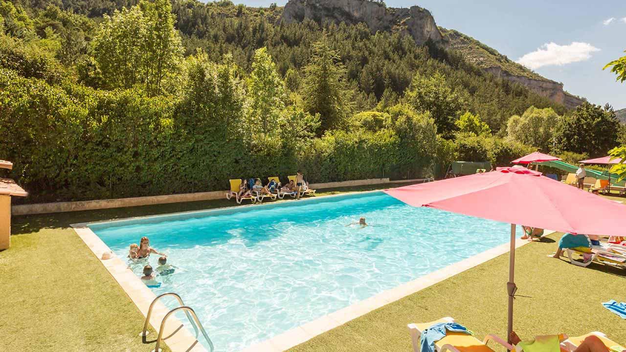 Camping Les Princes d'Orange 4* à Orpierre dans les Hautes-Alpes