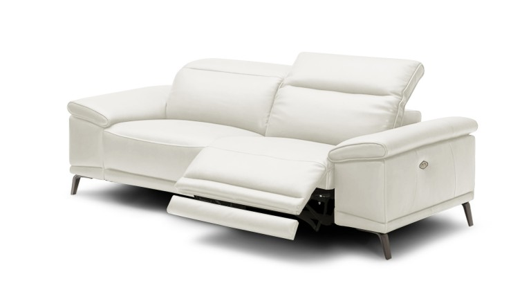 canap cuir 3 places relax lectrique juktan mobilier moss - Canape 3 Places Relax