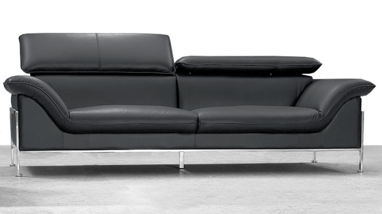 Canape Cuir 3 Places Design Shawn Soldes Canape Mobilier Moss