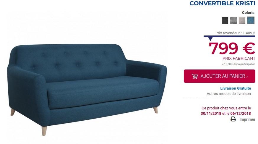 Amadeus 00 Canapé Design Achatdesign 949 Prix Convertible oQdCxWreB