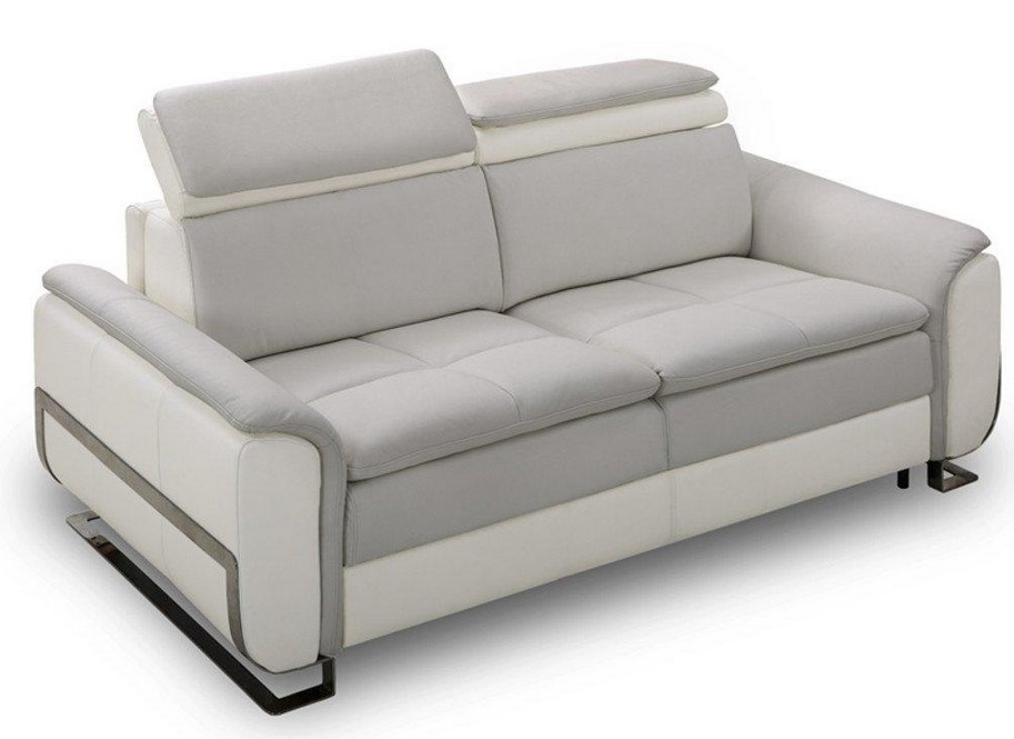 Inside75 Canapé Lit Morelia Convertible 140cm Rapido Pas