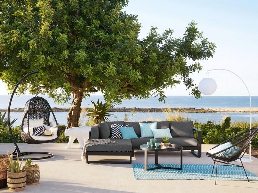 alinea canap de jardin en rotin lena ete. Black Bedroom Furniture Sets. Home Design Ideas