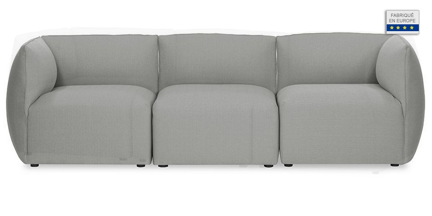 Canap droit cloud 2 places bolia canap made in design - Canape made in design ...
