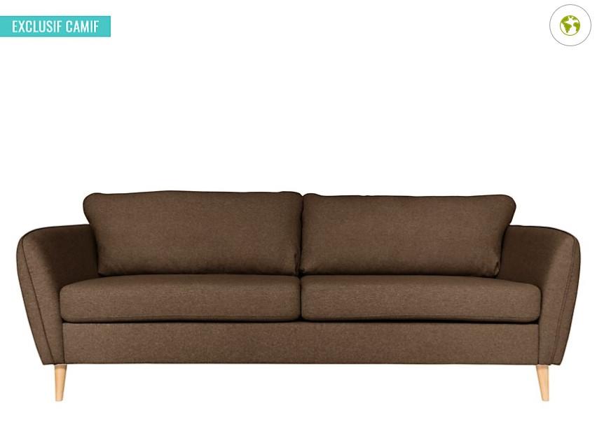 Canapé tissu Finn - Camif