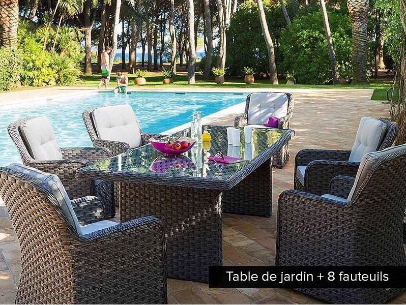 Salon de jardin en résine Sur Iziva - Iziva.com