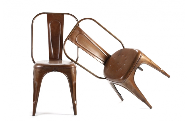 chaise design miliboo sur iziva - iziva.com - Chaises Industrielles Pas Cher