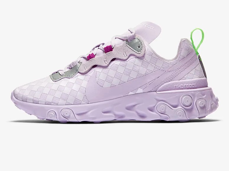 Nike React Element 55 Raisin pâle
