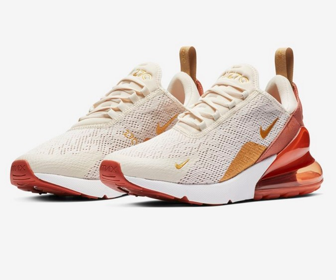 competitive price 5b688 b4eb2 Nike Sportswear AIR MAX 270 Baskets basses Blanc Rouge solaire Noir Ultra  marine