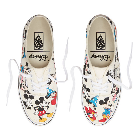 3b344af1c7b904 Vans Disney X Vans Authentic Baskets basses Blanc - Baskets Femme ...