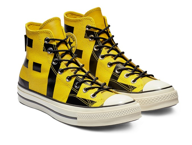Converse Chuck 70 Gore-Tex Leather High Top bold citron/black/egret