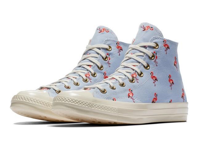 Converse Chuck 70 Prep Embroidery blue chill/pale coral/egret