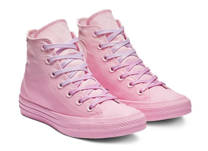 Converse Chuck Taylor All Star Dip Dye High Top pink foam/pink rise/pink rise pour Femme