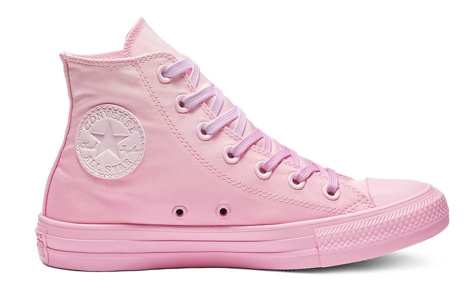 7fb0ac6efd9 Converse Chuck Taylor All Star Dip Dye High Top pink foam pink rise pink  rise - Baskets Femme Converse