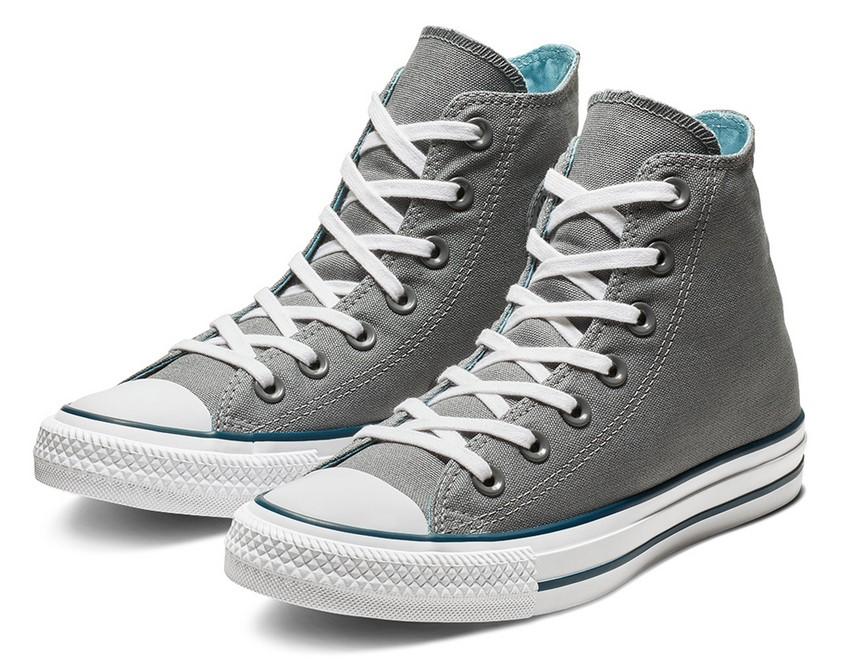 Chuck Taylor All Star Seasonal Color High Top cool grey/shoreline blue