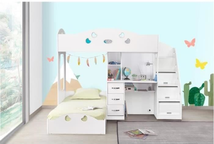 Last meubles lits superpos s slim pas cher lits - Cdiscount lits superposes ...