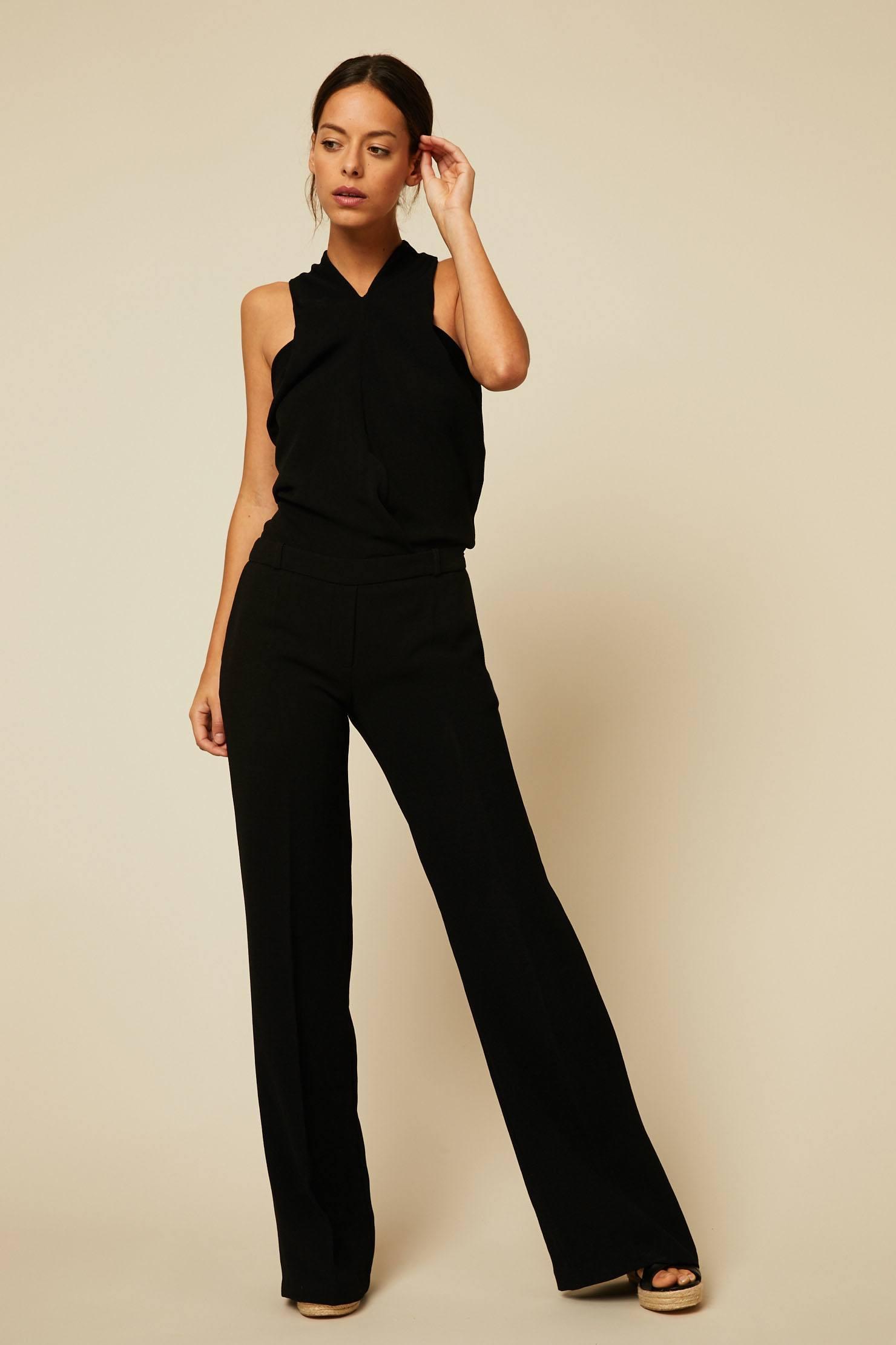 ac721fbc8ac Ba sh Oasis Combi-pantalon dos-nu noir - Combinaison Femme Monshowroom   (Mode)  Monshowroom Ba sh Oasis Combi-pantalon dos-nu noir Ba sh Oasis ...