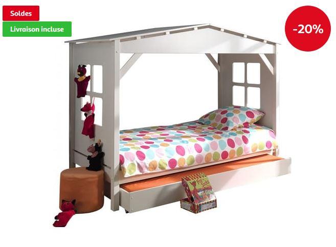 lit enfant avec tiroir pas cher lit bebe tiroir lit bas en bois blanc une place enfant lit bebe. Black Bedroom Furniture Sets. Home Design Ideas