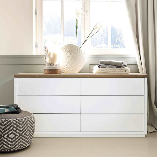 commode en ch ne massif blanche austral commode maisons du monde. Black Bedroom Furniture Sets. Home Design Ideas