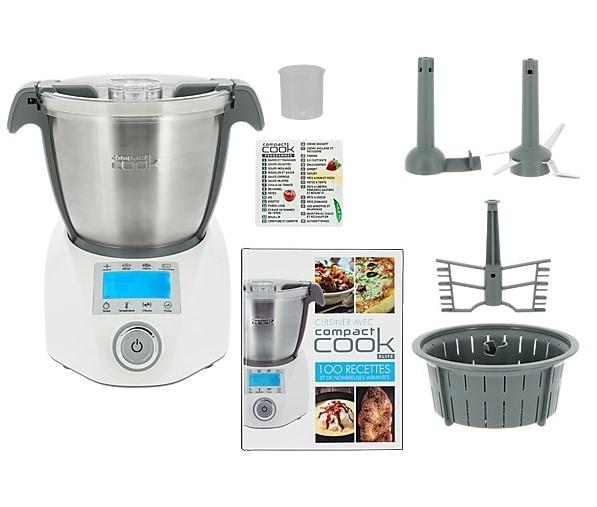 Compact Cook Elite Robot De Cusine Multifonction Pas Cher Robot De
