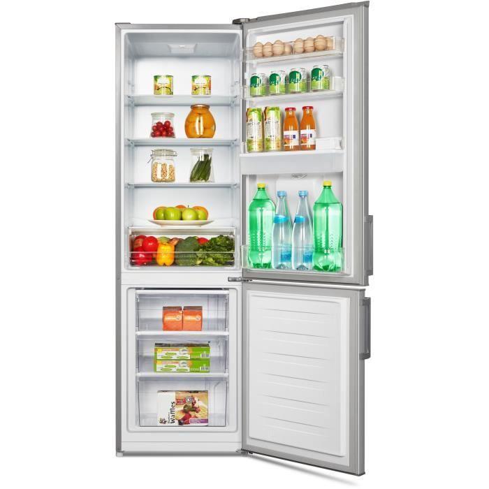 CONTINENTAL EDISON CEFC262DS Réfrigérateur combiné 262L  - Cdiscount
