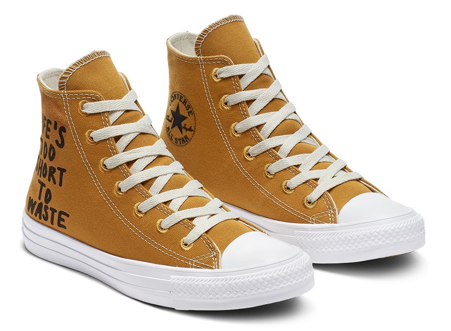 Converse Chuck Taylor All Star Renew High Top wheat/black/white pour Femme