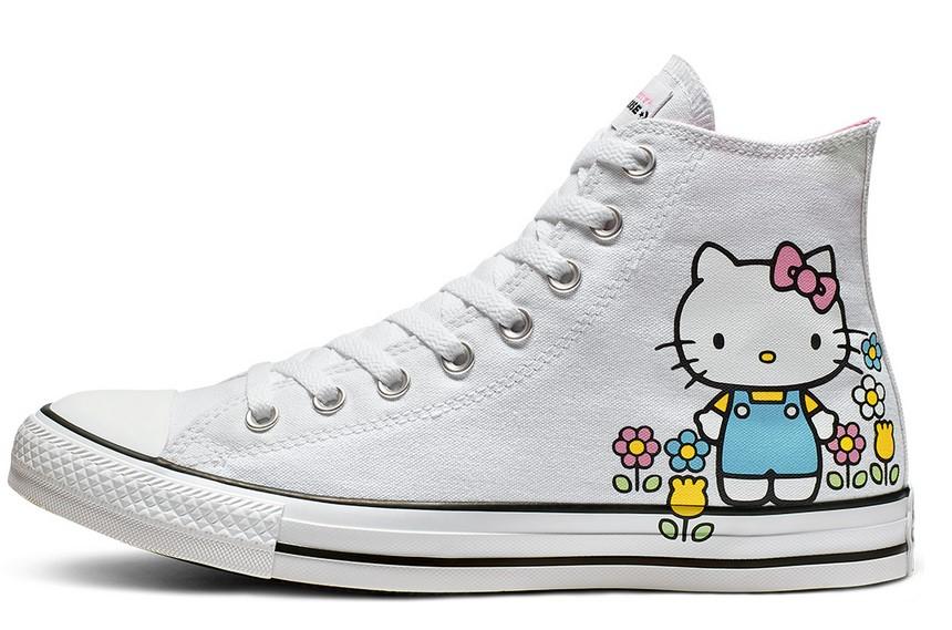 Converse x Hello Kitty Chuck Taylor All Star High NWT