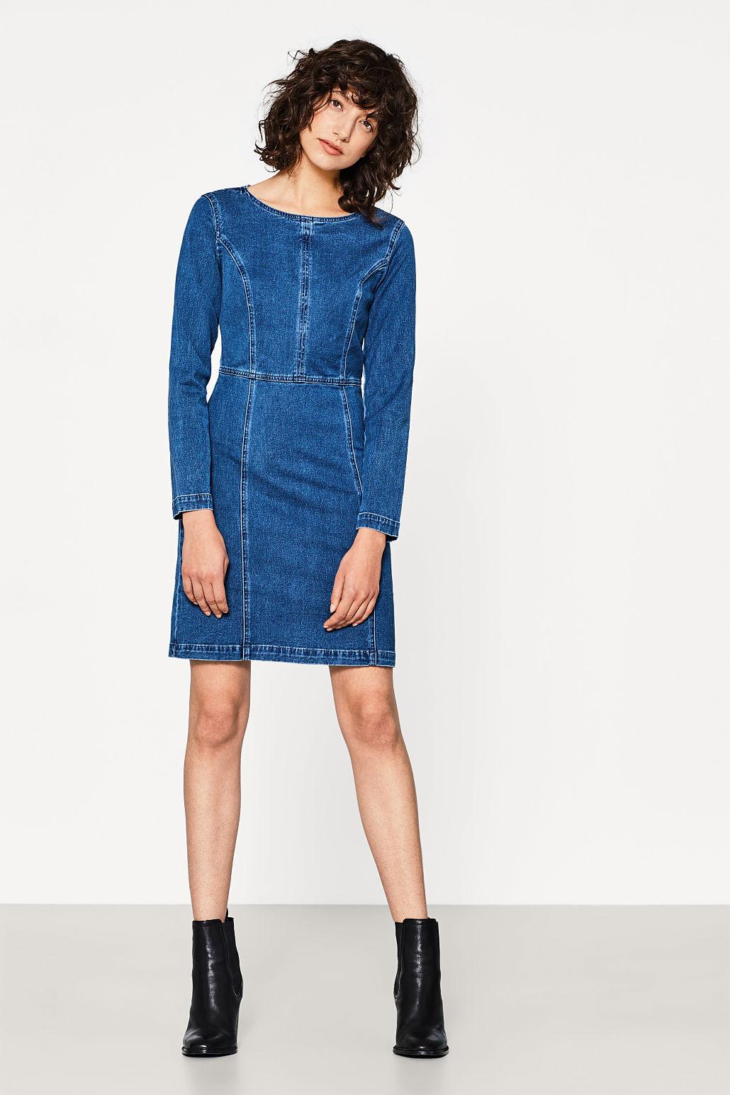 Edc by Esprit Robe en jean blue medium wash - Robe Femme Esprit ... 15a49d9576