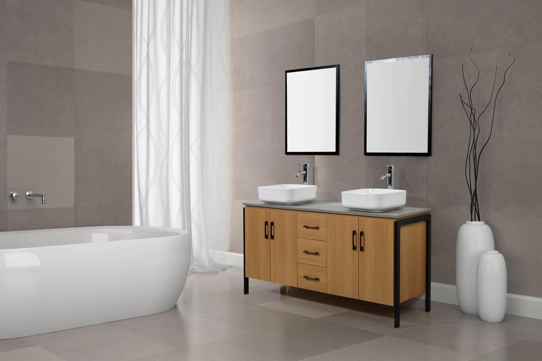 Salle De Bain Industrielle denver ensemble de salle de bain industriel pas cher