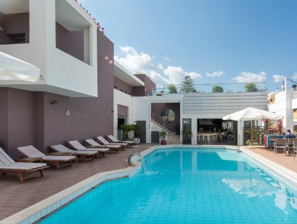 Hôtel Dionyssos 4* à Rhodes en Grèce