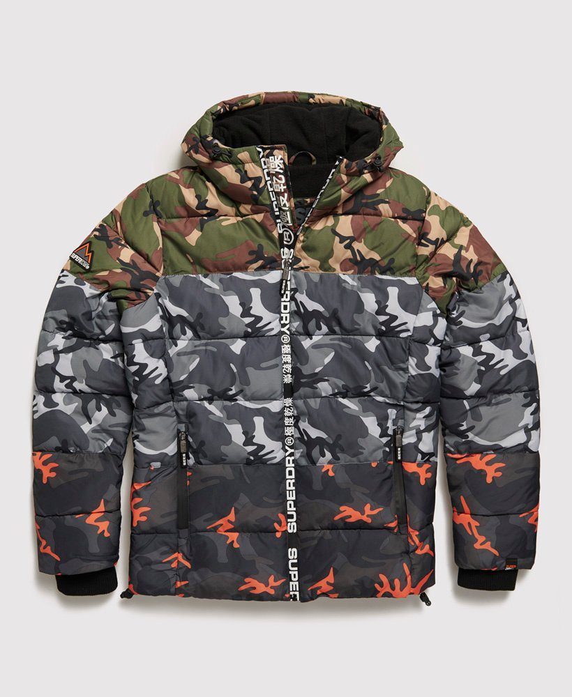 Superdry Doudoune Camo Mix Sports pour Homme