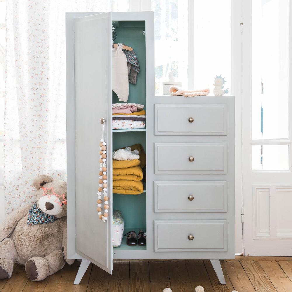 kit dressing effet fr ne blanc new york dressing leroy. Black Bedroom Furniture Sets. Home Design Ideas