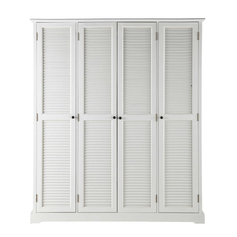 Dressing blanc 4 portes Barbade - Maisons du Monde