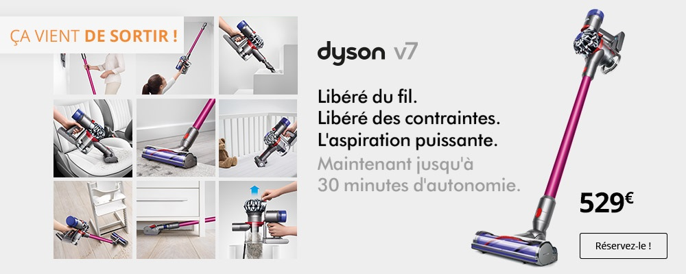 dyson v7 animalpro pas cher aspirateur balai boulanger. Black Bedroom Furniture Sets. Home Design Ideas