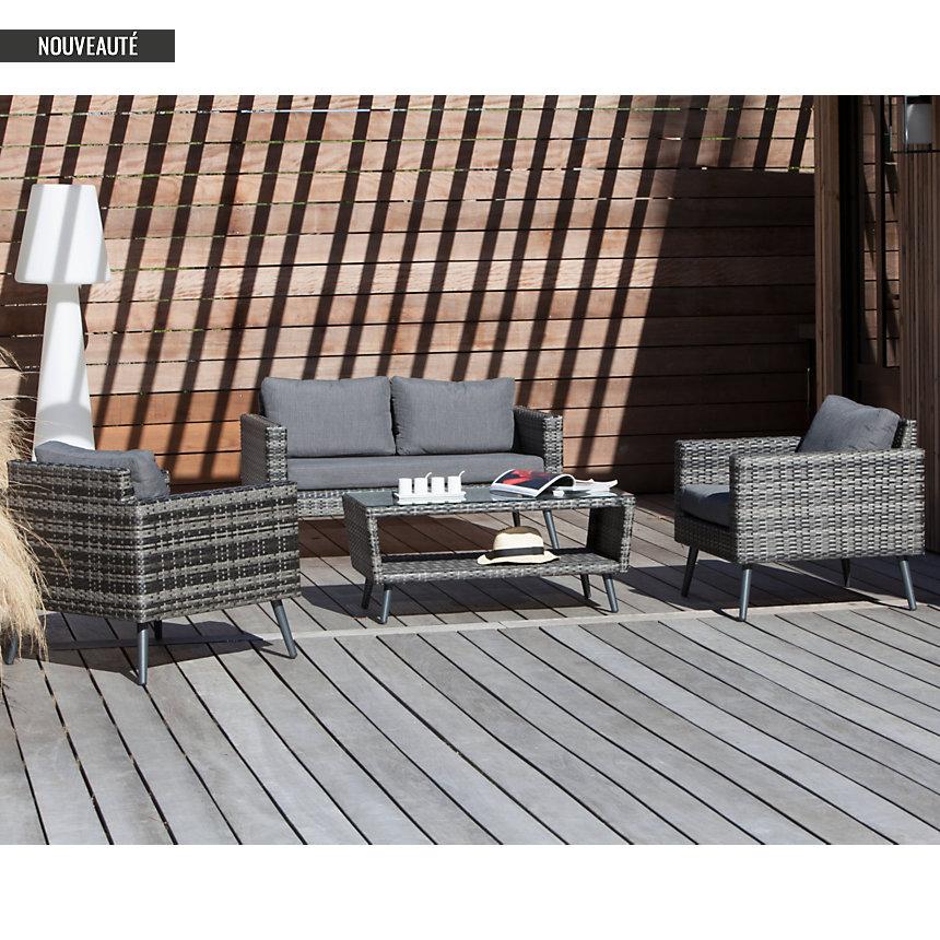 Awesome Salon De Jardin Aluminium Camif Photos Amazing House Design ...