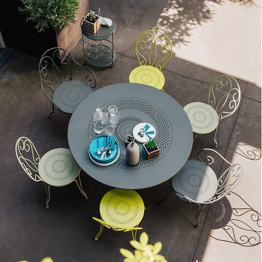 Ensemble Table Ronde Et 4 Chaises Montmartre Fermob Salon De
