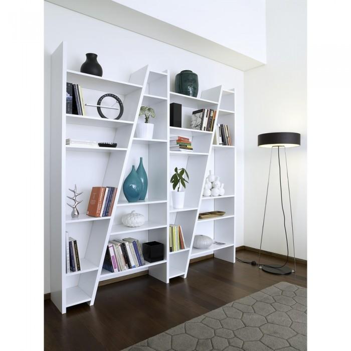 Etagère Atylia - Etagère de rangement 4 Ladders blanche - Iziva.com