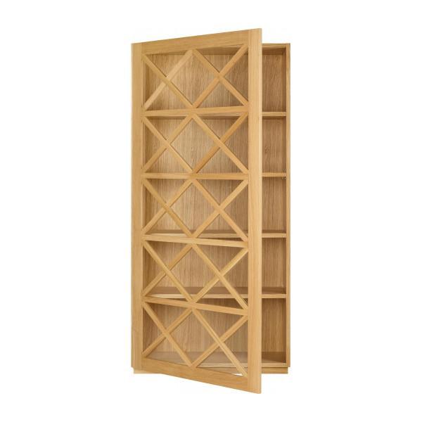 kroix etag re en ch ne et verre habitat etag re habitat. Black Bedroom Furniture Sets. Home Design Ideas