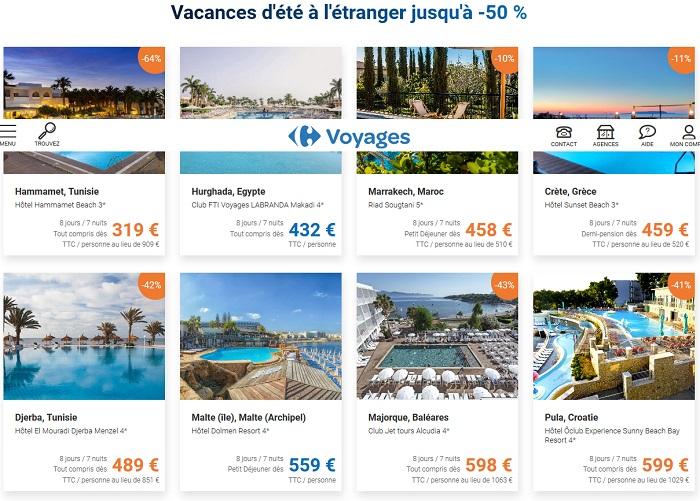 Vacances d'été à l'Etranger pas cher