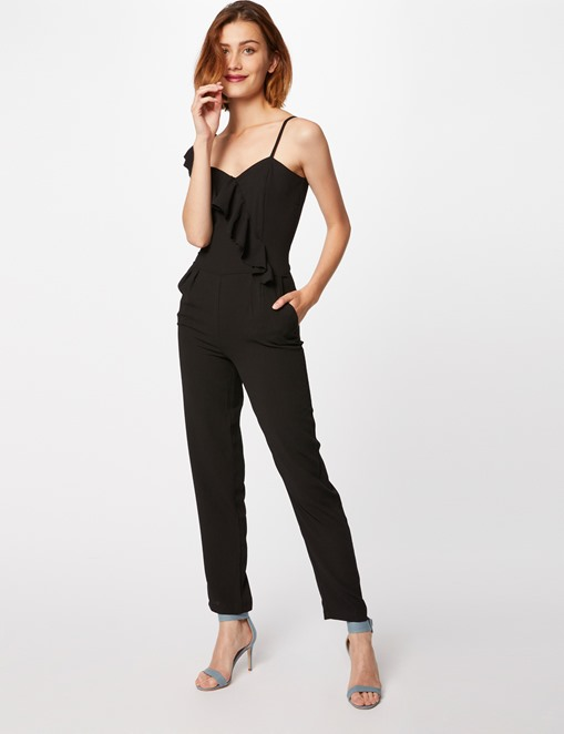 Combinaison pantalon one shoulder Morgan