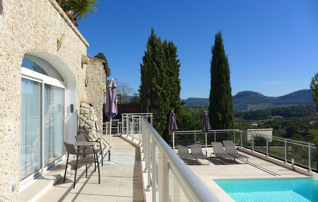 Abritel Location Cassis - Vue mer imprenable Cassis, piscine chauffée, Les Calanques