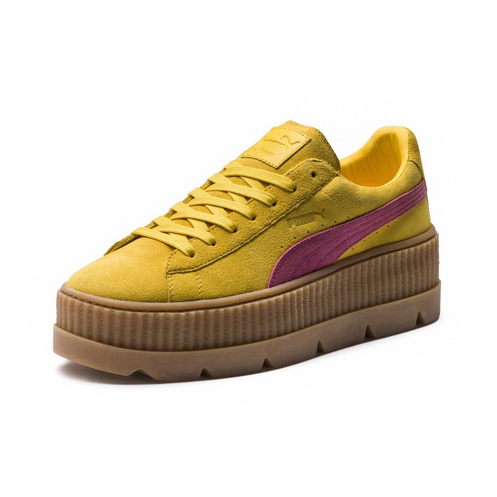 PUMA by Rihanna Basket FENTY Suede Cleated Creeper