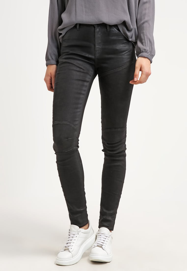 G-Star 5620 HIGH SKINNY Jean slim slander black superstretch