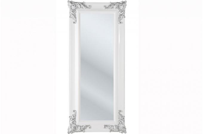Grand Miroir Blanc Grand Miroir Baroque Hotel Xcm Blanc Antique
