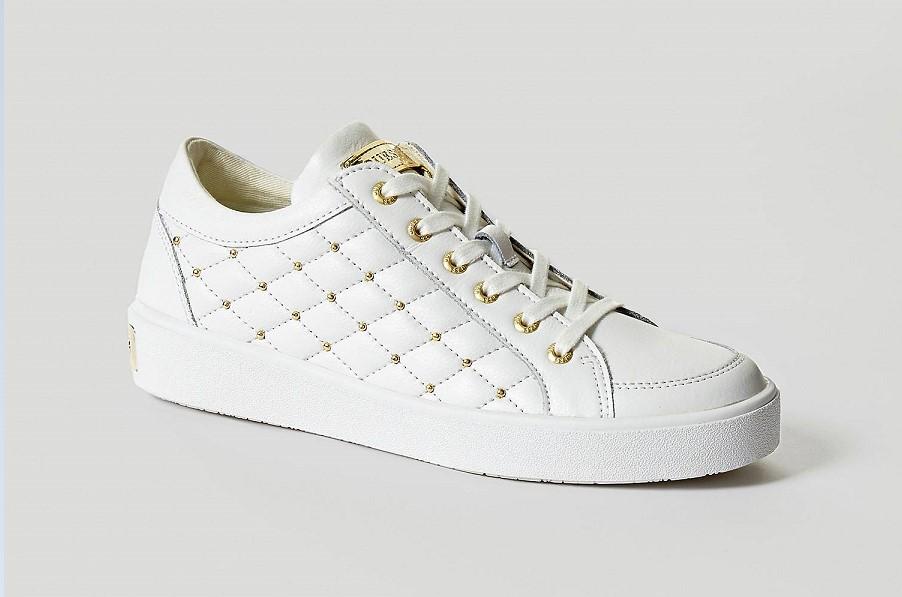 Guess GLINNA Baskets basses white Baskets Femme Guess
