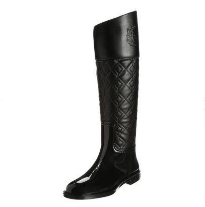 Guess SISSYNA Bottes en caoutchouc noir - Bottes de Pluie Zalando ... 0df225ef667