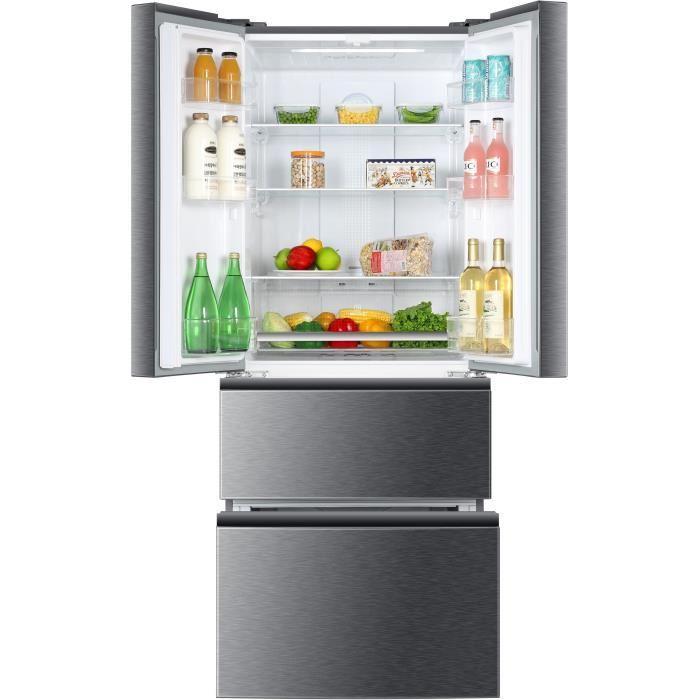 HAIER B390TGAAS Réfrigérateur multi-portes 382L - Cdiscount