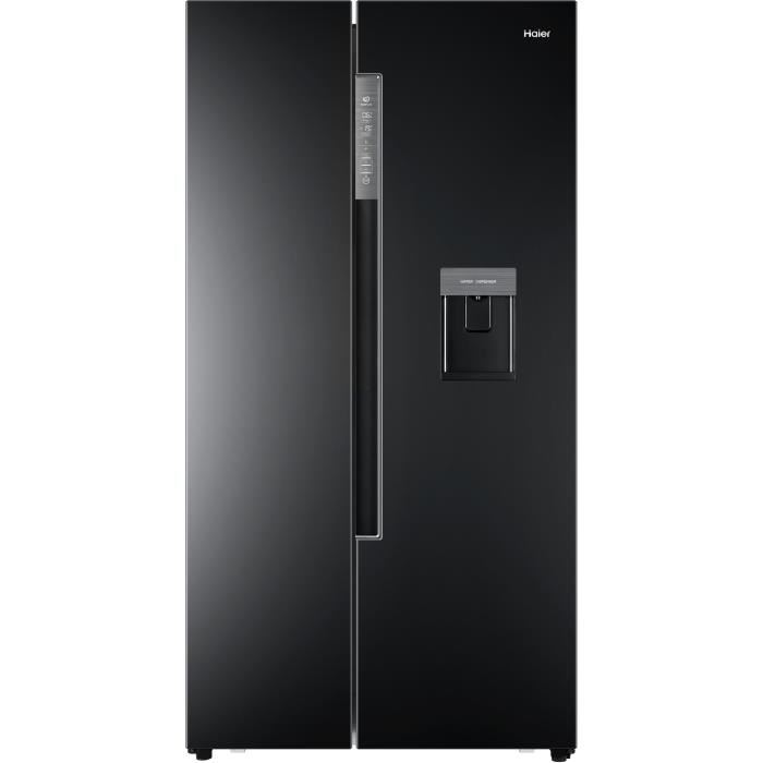 r frig rateur am ricain 536 litres hisense rf697n4zs1 r frig rateur conforama. Black Bedroom Furniture Sets. Home Design Ideas