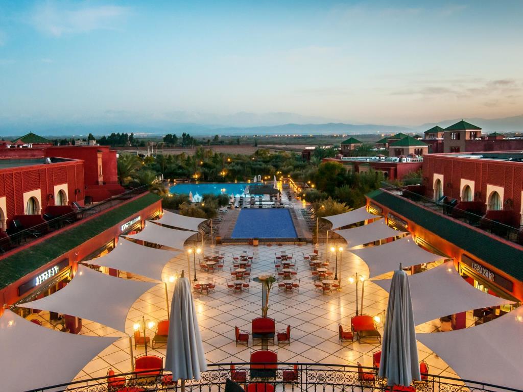 Hôtel Eden Andalou Aquapark et Spa 5* Marrakech au Maroc