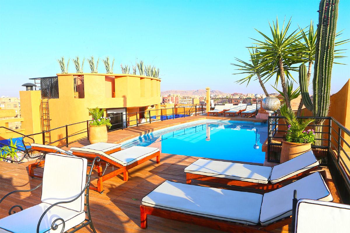 Hôtel Fashion 3* à Marrakech au Maroc