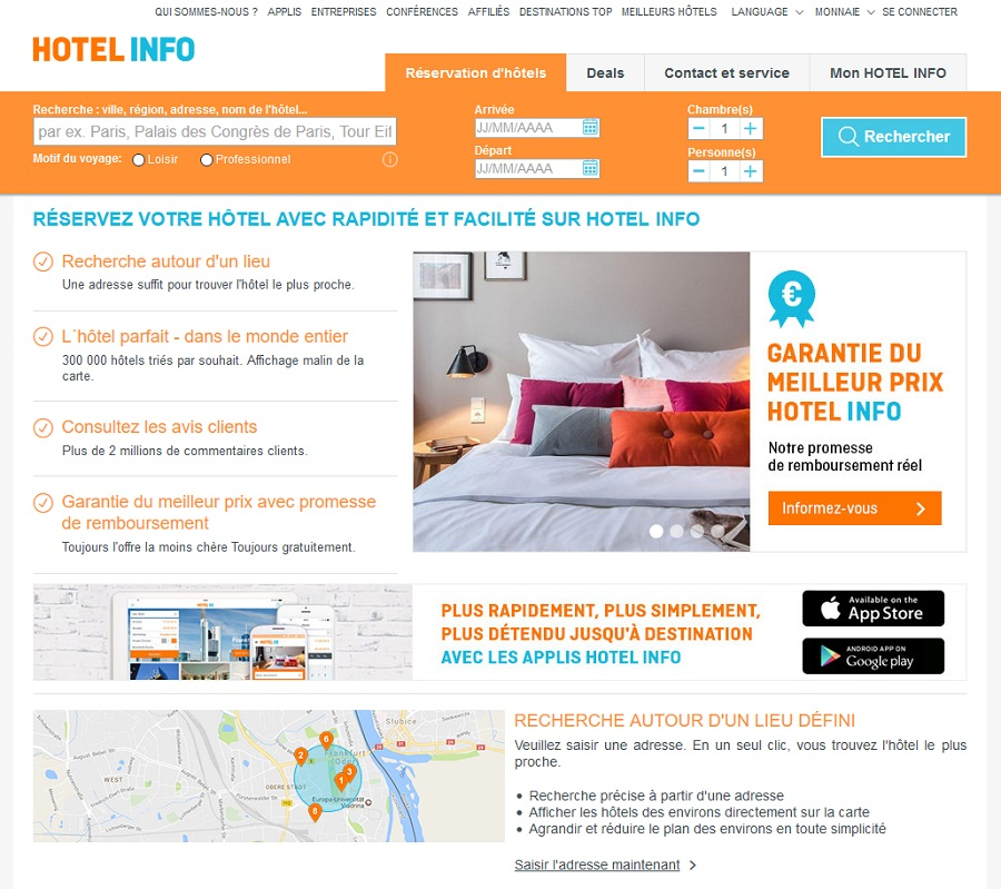Hotel.info Reservation Chambre d'hotel pas Cher